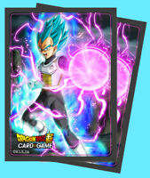 65 ULTRA PRO DRAGON BALL SUPER God Charge VEGETA Deck Protector Card Sleeves ccg