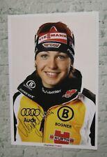 ORIGINAL Autogramm von Magdalena Neuner. pers. gesammelt. 20x30 Foto. 100%. ECHT