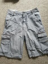 Mens Cargo Shorts - Soulcal & Co Size 30 Waist