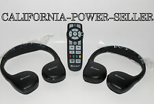 CHRYSLER VES UCONNECT Headphones OEM PART AUDIO KIT W REMOTE 05091246AA *NEW