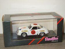 Porsche 356A 1953 Racing Carrera Evita Peron van Detail Cars 1:43 in Box *28165
