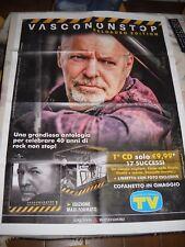 LOCANDINA POSTER MANIFESTO VASCO ROSSI NON STOP RELOADED EDITION N. # 1 !!!