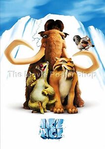 Ice Age  2002  Movie Posters Classic & Vintage Cinema