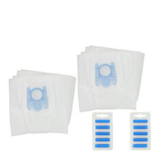 8 fleece vacuum cleaner bags and 2 filter for Bosch GL50 + 10 Vacuum Fresheners