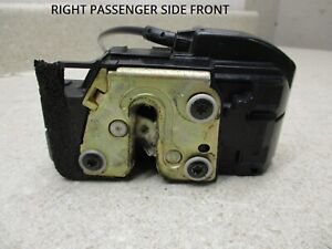 05 to 12 Nissan Titan 05-07 Armada Right Front Door Lock Latch, Actuator OEM