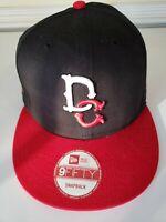 DC Shoes Logo New Era Baseball Hat Cap Red and Blue Adult Adjustable Snapback