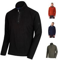 Regatta Elgon IV Grid Effect Half Zip Fleece Jacket Top Pull Over RRP £30.00