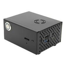 Raspberry Pi X820 V3.0 Schwarz Gehäuse Case+Cooling Lüfter Fan Kit für X820 HDD