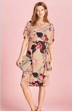Next - Maternity Floral Print Batwing Dress - Size 12 - BNWT