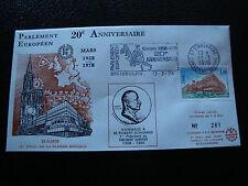 FRANCE - enveloppe 13/3/1978 yt service n° 54 (cy19) french