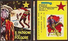 PICCOLO RANGER COLLANA COWBOY N°5 IL PADRONE DELLA FOLGORE - APRILE 4/1964
