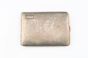 Vintage R. Blackinton & Co Sterling Silver Cigarette Case Model 8857 Monogram