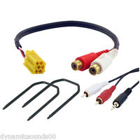 Fiat Grande Punto 3.5mm Aux Input Adaptor Lead for MP3 iPod iPhone Android