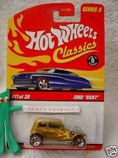 "2007 Hot Wheels S3 Classics #11 '32 FORD ""VICKY"" ∞Lgt ORANGE-GOLD∞Series 3"