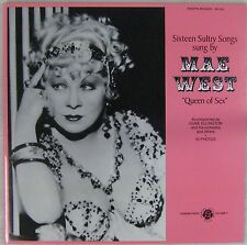 Mae West 33 tours Sixteen Sultry Songs