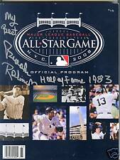 Brooks Robinson Auto 2008 All Star Program NY Yankee Stadium HOF 1983 Signed COA