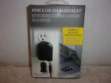Scosche HC12V power USB Car & Home Charging Kit - NEW