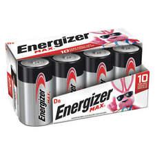 Energizer MAX D Batteries, Alkaline D Cell Batteries (8 Pack)
