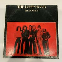 The J. Giles Band - Bloodshot - 1973 Vinyl LP Record (Condition VG) Red Vinyl