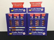Crafe Away Regular Filters (for Standard shop bought cigarettes) x 24 packs!