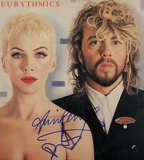 THE EURYTHMICS Signed Photograph - Pop / Rock Duo LENNOX / STEWART - preprint