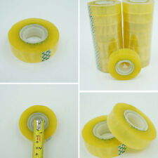 New listing 1X/Set 60M 18Mm Width Clear Transparent Tape Sealing And Paste Diy Station Hijh