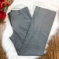 "Ann Taylor Women's Gray ""Devin Fit"" Bootcut Dress Career Work Pants Size 2"
