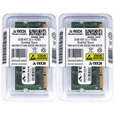 2GB KIT 2 x 1GB Toshiba Tecra M4-S415 M4-S435 M4-S515 M4-SP625 Ram Memory