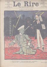 C1 LE RIRE # 146 1905 La REVOLUTION en RUSSIE par JEANNIOT Poulbot IRIBE
