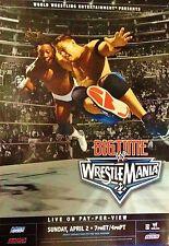 2006 BIG TIME WRESTLEMANIA 22 PPV POSTER WWE JOHN CENA, FREE SHIPPING, ROLLED!