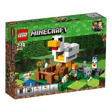LEGO® Minecraft™ - 21140 Hühnerstall - NEU & OVP - passt zu 21118 21115 21117  +