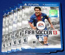 Lot of 6 FIFA Soccer 13 Sony PlayStation Vita *Factory Sealed! *Free Shipping!