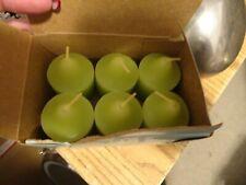 New ListingPartylite Marvelous Melon Retired Scent 5 Green Votive Candles V06781