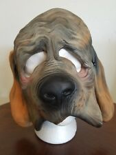 Vtg 1987 Imagineering Inc. Halloween Rubber Mask Dog