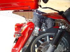 Tour pak pack Chrome Detachable Mount Rack&Docking Kit for Harley 97-08 Touring