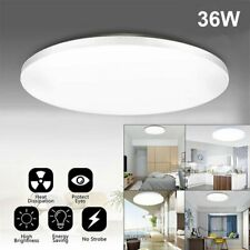 36w Led Surface Mount Fixture Ceiling Light Bedroom Kitchen Round Panel Lights