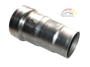 Auspuff Adapter Muffe Rohr Reduzierstück Universal EDELSTAHL 50 55 60 65 mm