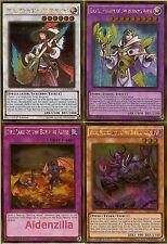 Yugioh Burning Abyss Deck - Dante Virgil Rubic Cir Graff Scram Fiend Link Lot