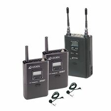 Azden 330LT Dual-Channel Wireless Mike System