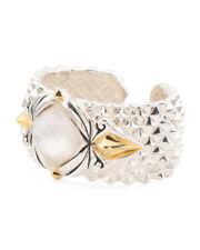 NWT STEPHEN WEBSTER Made In UK Sterling Silver Spike Crystal Haze Bracelet $2150