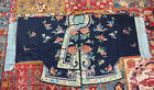 Magnificent Antique Qing Dynasty Chinese Silk Embroidery Robe Jacket Excellent