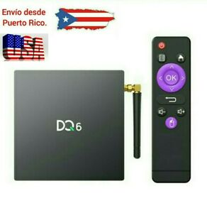 Android TV Box 10.0,[2020-21Newest] DQ6 Android 10.0 TV Box 4GB RAM 32GB ROM,
