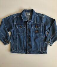 Vintage Osh Kosh Bgosh Denim Jacket Size 7 Kids Childrens Vestbak unisex