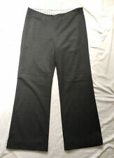 TOAST Fabulous and Smart Grey Wool Wide Leg Trousers RARELY WORN Size 14 R