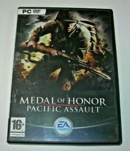 Medal of Honor: Pacific Assault PC 1ª edición española buen estado