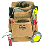 Brand New Custom Leathercraft Suede Carpenter's Nail and Tool Bag 10 Pocket