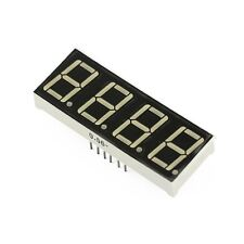 10 Pcs 056 Inch Red 4 Digit Red Led Display 7 Segment Common Cathode New L7
