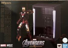 S.H Figuarts AVENGERS Iron Man Mark VII (7) & Hall Of Armor Set AUTHENTIC BANDAI
