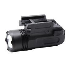 Tactical Pistol Gun Flashlight Torch Light for 20mm Picatinny Rail 200 Lumens