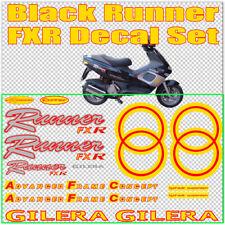 Gilera Runner  FXR Stickers Decals, YELLOW & RED  AUTOCOLLANT ETICHETTA